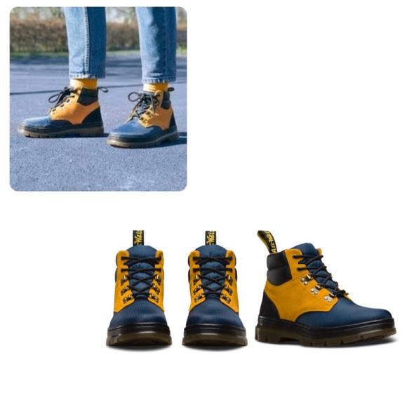 53ae5cfe3fb Dr. Martens Rakim Mid Indigo Boot 3UK/4M/5L/36EU